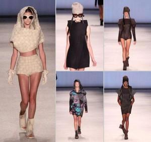 A Osklen acaba de apresentar uma coleção surpreendente, em que trabalha com novas propostas de formas e estruturas para a roupa.