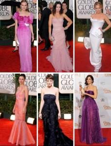 Glamurama elege as estreladas mais bem-vestidas da 67ª edição do Globo de Ouro