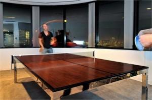 Tênis de mesa de reunião