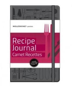 Olha só que ideia bacana para quem curte gastronomia: a Moleskine acaba de lançar um modelo só para anotar receitas.