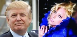 Donald Trump virou fã de carteirinha de Lady Gaga.