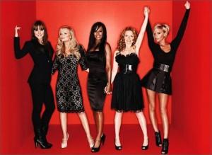 """Spice Girls se inspiram no filme """"Mamma Mia"""" para criar um musical sobre a trajetória do grupo."""