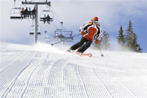 Aspen: Bombando de neve