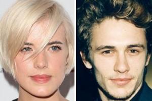 Tabloides norte-americanos e britânicos afirmam que James Franco e Agyness Deyn estão namorando.