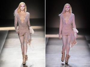 Apesar de não fazer o perfil das modelos que desfilam para a alta-costura, quem deu pinta na passarela de Valentino nessa quarta-feira, na Semana de Haute Couture de Paris, foi Alice Dellal.