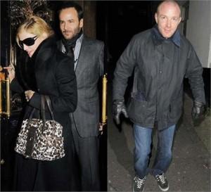 Madonna janta com Tom Ford em restaurante ao lado do pub Punchbowl de seu ex-marido Guy Ritchie.
