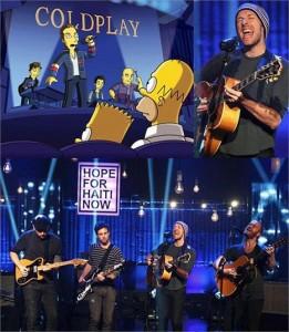 Chris Martin é a nova celebridade escolhida para participar do seriado Os Simpsons.