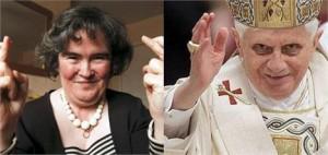 Susan Boyle pode cantar para o Papa em setembro na Escócia.