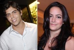 Luciana Tranchesi voltou a sorrir. Ela anda em clima de o amor é lindo com Thiago Viana.