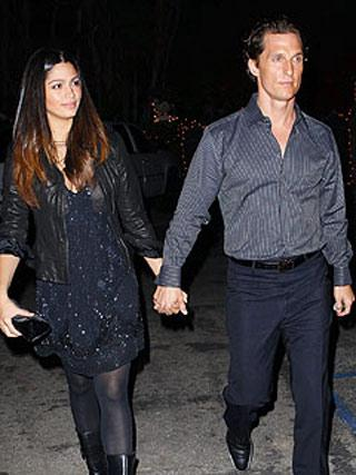 Camila Alves e Matthew McConaughey: jantar surpresa