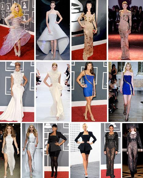 Lady Gaga, Katy Perry, Rihanna, Fergie, Jennifer Lopez, Jennifer Hudson e Ciara: os melhores e piores do Grammy 2010