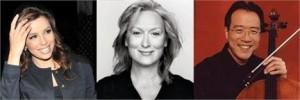 Apontada por ter genética idêntica a de Meryl Streep, Eva Longoria dispensa proximidades e se esquiva de qualquer parentesco com a atriz.