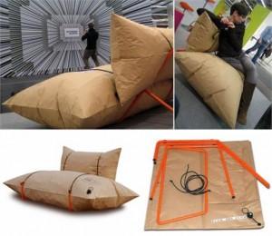 Designers poloneses inventam um sofá que é pura praticidade!