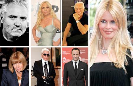 Gianni Versace, Donatella Versace, Giorgio Armani, Claudia Schiffer, Anna Wintour, Karl Lagerfeld e Tom Ford: livro revelador