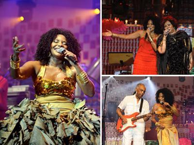 AfroPopBrasileiro: Margareth Menezes divide o palco com Alcione e Gilberto Gil