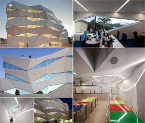Confira um dos mais novos projetos de arquitetura na paisagem de Porto em Portugal.