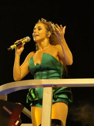 Daniela Mercury: querida pela turma GLS
