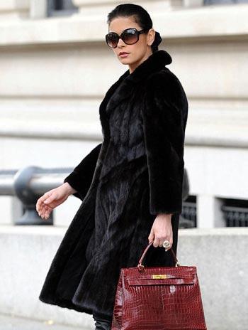 Catherine Zeta-Jones: a mais malvestida, segundo a PETA