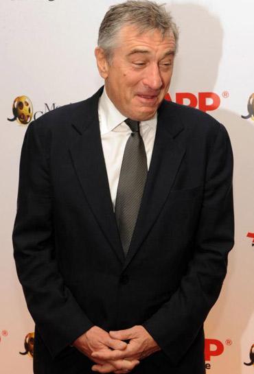 """Robert De Niro na premiação da """"AARP Magazine"""": muito bem-humorado"""