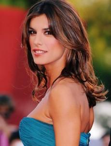"Elisabetta Canalis, namorada de George Clooney, vai estar na série ""Leverage""."