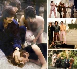 Uma seleção de fotos inéditas dos Beatles, feitas em 1968, acaba de ser encontrada.
