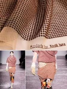 As estilistas Kate e Laura Mulleavy, da Rodarte, acabam de consolidar uma parceria com a fabricante de tecidos Knoll.