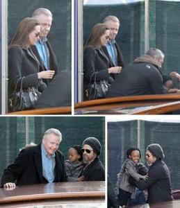 Todo mundo quer saber de Angelina Jolie e Jon Voight, que finalmente fizeram as pazes.