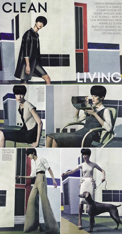 """Raquel Zimmermann: estrela da edição de março da """"Vogue"""" norte-americana"""