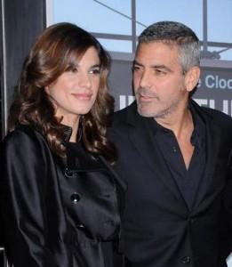 Elisabetta Canalis fisgou o coração de George Clooney, solteirão mais convicto de Hollywood.