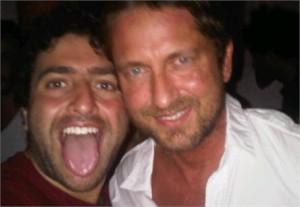 Um dos DJs que têm feito mais sucesso nas noites da Disco, Marcos Maria, ganhou um fã internacional: Gerard Butler.