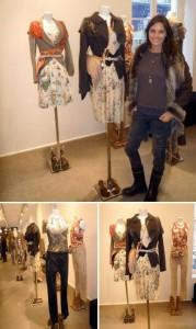 A estilista Cris Barros está bastante animada com o reconhecimento de sua marca em Paris.