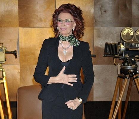 Sophia Loren: a todo vapor