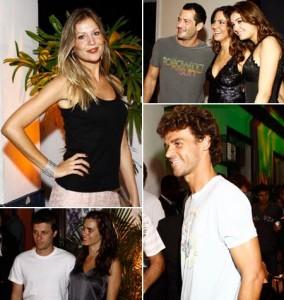 Aniversário de Carol Sampaio reúne turma de famosos no Rio.