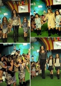 Cris Barros fecha a 10ª edição do Fashion Weekend Kids.