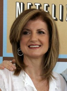 "Arianna Huffington vai participar do seriado norte-americano  ""How I Met Your Mother""."