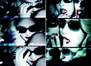 Depois de anunciar parceria com a gigante Macy's, Madonna divulga imagens de sua primeira coleção de óculos para a Dolce & Gabbana.