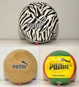 A Puma do shopping Iguatemi recebeu bolas com estampas e tecidos inspirados na África.