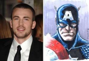 Chris Evans pode viver Capitão América no cinema.