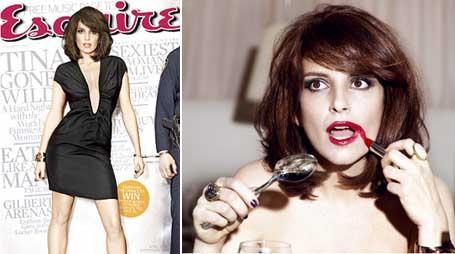 """Tina Fey na """"Esquire"""" de abril: bem-humorada"""