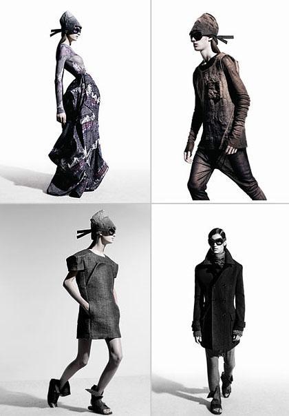Imagens da campanha de outono-inverno da Osklen: minimalismo, arquitetura e androginia