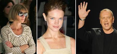 Anna Wintour, Natalia Vodianova e Michael Kors: por uma boa causa
