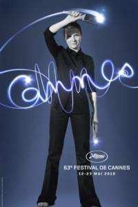 Juliette Binoche ilustra o pôster oficial do Festival de Cannes.