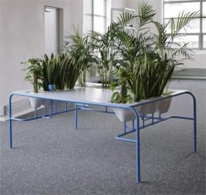 Mesa ecologicamente correta é uma das grandes novidades para os escritórios e também para casa.