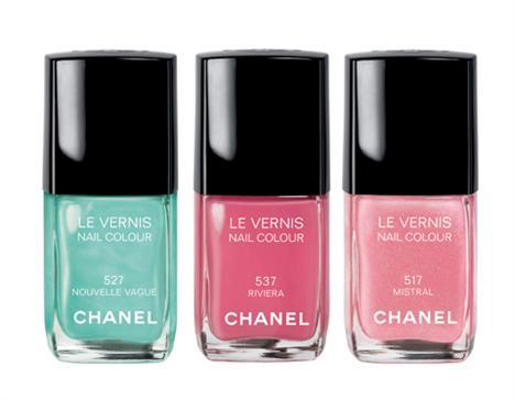 Novas cores de esmaltes da Chanel prometem dar o que falar.