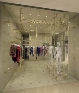 O estilista Alexandre Herchcovitch inaugura sua primeira loja no Rio nesta terça, 6 de abril, no Fashion Mall.