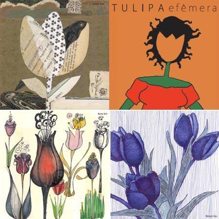 """As ilustrações do CD """"Efêmera"""": uma graça!"""