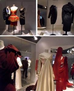 O museu Les Arts Décoratifs de Paris realiza exposição com inclui vestidos lendários dos anos 1970 e 1980.