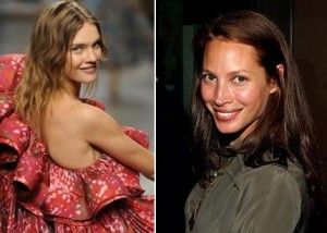 Campanha da Louis Vuitton deve ser fotografada semana que vem com Christy Turlington e Natalia Vodianova.