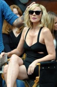 """A atriz Kim Cattrall se diz pronta e na expectativa para o terceiro filme da série """"Sex and the City""""."""