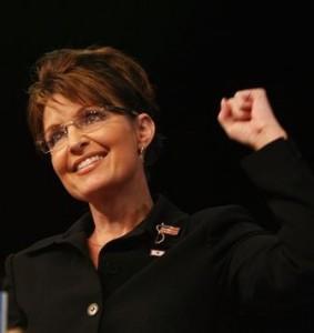 Sarah Palin mostra que faz mais sucesso no show business que na política.